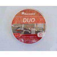 Двухсторонняя лента Eurovent DUO (20мм × 25м)