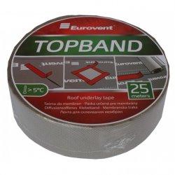 Лента для склеювання мембран Eurovent Top Band (50мм × 25м)